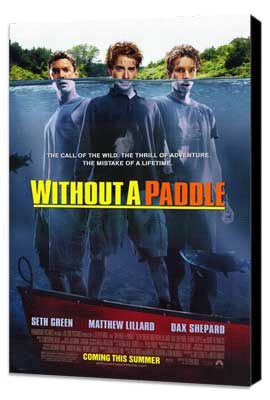 Without a Paddle - 27 x 40 Movie Poster - Style A - Museum Wrapped Canvas