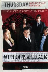 Without a Trace (TV) - 27 x 40 TV Poster - Style A