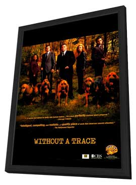 Without a Trace (TV) - 11 x 17 TV Poster - Style A - in Deluxe Wood Frame