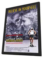 Without Limits - 11 x 17 Movie Poster - Style B - in Deluxe Wood Frame