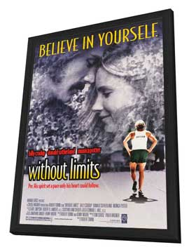Without Limits - 27 x 40 Movie Poster - Style B - in Deluxe Wood Frame