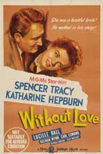 Without Love - 27 x 40 Movie Poster - Australian Style A