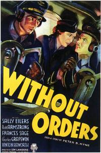 Without Orders - 11 x 17 Movie Poster - Style A