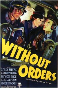 Without Orders - 27 x 40 Movie Poster - Style A