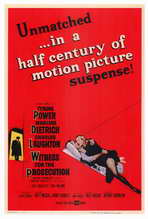 Witness for the Prosecution - 27 x 40 Movie Poster - Style A