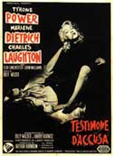 Witness for the Prosecution - 11 x 17 Movie Poster - Italian Style B
