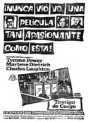 Witness for the Prosecution - 11 x 17 Movie Poster - Spanish Style C