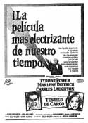 Witness for the Prosecution - 11 x 17 Movie Poster - Spanish Style E