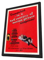 Witness for the Prosecution - 27 x 40 Movie Poster - Style A - in Deluxe Wood Frame