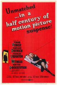 Witness for the Prosecution - 11 x 17 Movie Poster - Style A