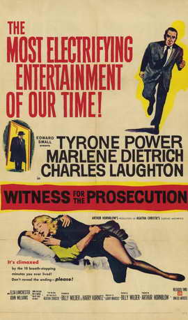 Witness for the Prosecution - 11 x 17 Movie Poster - Style B