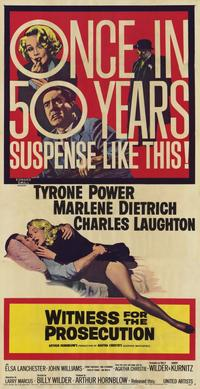 Witness for the Prosecution - 11 x 17 Movie Poster - Style C