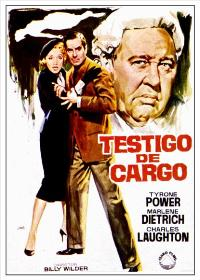 Witness for the Prosecution - 27 x 40 Movie Poster - Spanish Style A