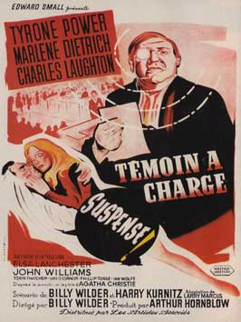 Witness for the Prosecution - 11 x 17 Movie Poster - French Style A