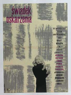 Witness for the Prosecution - 11 x 17 Movie Poster - Polish Style A