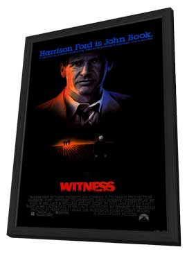 Witness - 11 x 17 Movie Poster - Style A - in Deluxe Wood Frame