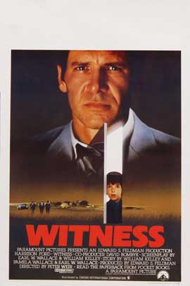 Witness - 27 x 40 Movie Poster - Belgian Style A