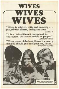 Wives - 27 x 40 Movie Poster - Style A