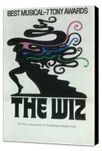 Wiz, The (Broadway) - 11 x 17 Poster - Style A - Museum Wrapped Canvas