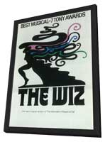 Wiz, The (Broadway) - 11 x 17 Poster - Style A - in Deluxe Wood Frame