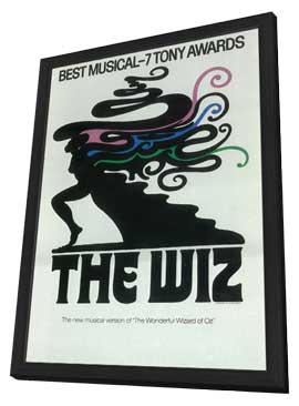 Wiz, The (Broadway) - 14 x 22 Poster - Style A - in Deluxe Wood Frame