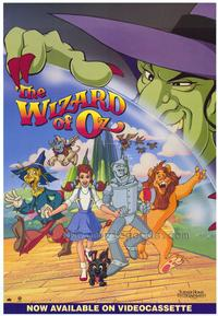 The Wizard of Oz (animated) - 27 x 40 Movie Poster - Style A