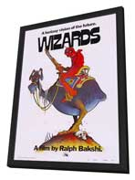 Wizards - 27 x 40 Movie Poster - Style B - in Deluxe Wood Frame