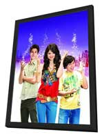 Wizards of Waverly Place (TV) - 11 x 17 Movie Poster - Style D - in Deluxe Wood Frame