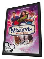 Wizards of Waverly Place (TV) - 27 x 40 Movie Poster - Style A - in Deluxe Wood Frame