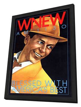 WNEW AM 1130 - 11 x 17 Movie Poster - Style A - in Deluxe Wood Frame