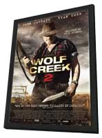 Wolf Creek 2 - 27 x 40 Movie Poster - Style A - in Deluxe Wood Frame