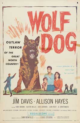 Wolf Dog - 11 x 17 Movie Poster - Style A