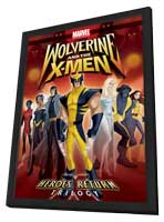 Wolverine and the X-Men (TV) - 11 x 17 TV Poster - Style A - in Deluxe Wood Frame