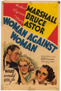 Woman against woman - 11 x 17 Movie Poster - Style B