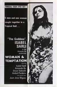 Woman and Temptation - 11 x 17 Movie Poster - Style A