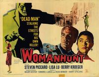 Woman Hunt - 22 x 28 Movie Poster - Half Sheet Style A