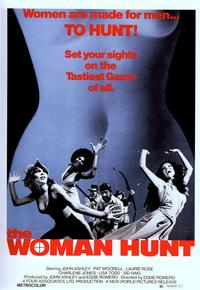 Woman Hunt - 11 x 17 Movie Poster - Style B
