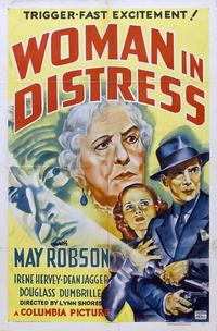 Woman in Distress - 11 x 17 Movie Poster - Style A