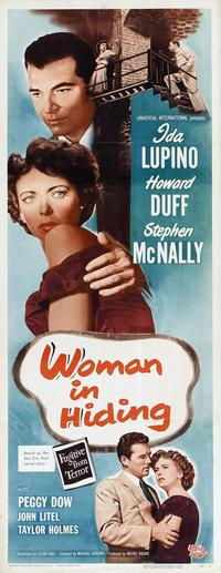 Woman in Hiding - 14 x 36 Movie Poster - Insert Style A