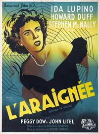 Woman in Hiding - 11 x 17 Movie Poster - French Style A
