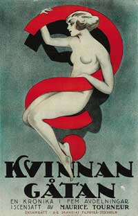 Woman - 43 x 62 Movie Poster - Swedish Style A