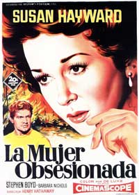 Woman Obsessed - 11 x 17 Movie Poster - Spanish Style A