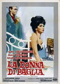 Woman of Straw - 11 x 17 Movie Poster - Italian Style A