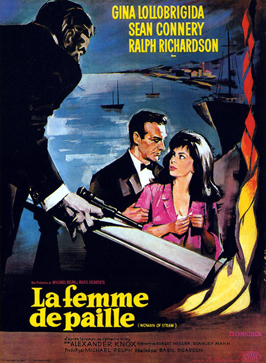 Woman of Straw - 11 x 17 Movie Poster - French Style A