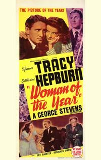 Woman of the Year - 27 x 40 Movie Poster - Australian Style A