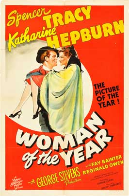 Woman of the Year - 27 x 40 Movie Poster
