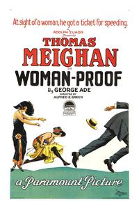 Woman-Proof - 11 x 17 Movie Poster - Style A