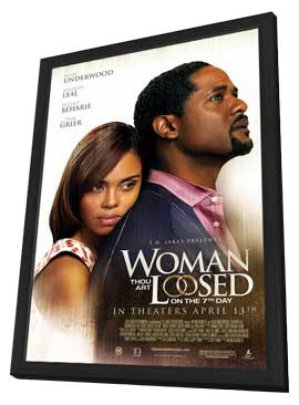 Woman Thou Art Loosed!: On the 7th Day - 11 x 17 Movie Poster - Style A - in Deluxe Wood Frame