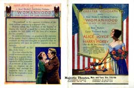 Womanhood, the Glory of the Nation - 11 x 17 Movie Poster - Style B