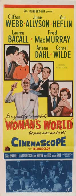 Woman's World - 14 x 36 Movie Poster - Insert Style A